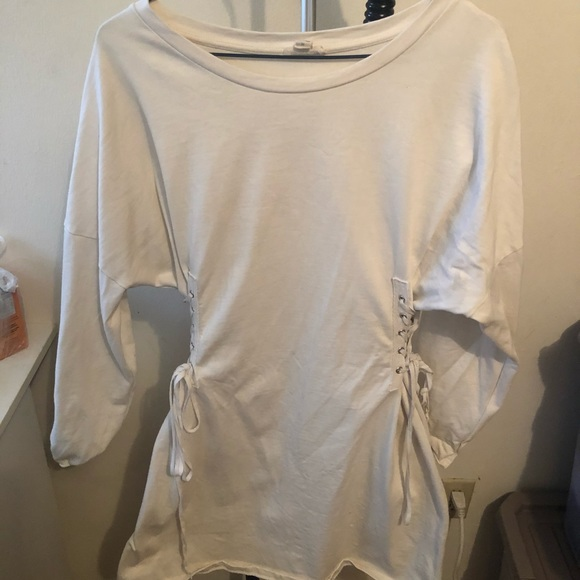 Urban Outfitters White Dress Size M